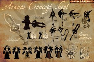 Aranos - Concept sheet by Wenart