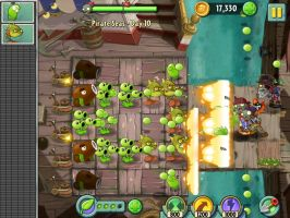 Plants vs Zombies 2 Gameplay Pirate Ship by ActiveAaron