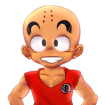 Krillin by Radiation-Dragon