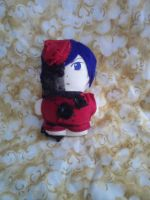 Red Ciel Mini Plushie by snowtigra