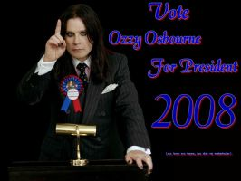 Ozzy in 2008 by queendiamond