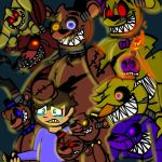 Break My Mind (FNaF 4) by YaoiLover113