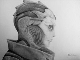 Thane Krios: The Best Assassin by alysarver