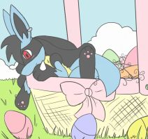 Happy Easter :3 by Cappuccino-Kitty