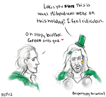 Happy St. Patrick's Day! (Asgard Style) by StarshipSorceress