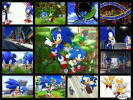 Sonic Generations Collage by SonicXBoom123