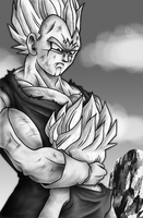 father son moment by prince-freeza