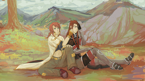 Luke and Asch by RileyKitty