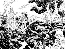 Gaurdians of the Globe FIGHT by RyanOttley