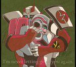 TFA - Ratchet and Arcee - Never Letting Go by ZeHornet