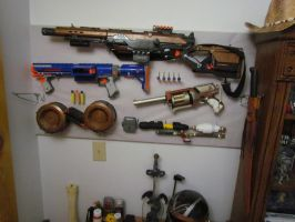custom nerf guns by SpudaFett