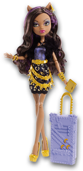 Monster High Doll Clipart: Scaris Clawdeen Wolf by MHProGal