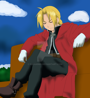 Edward Elric by msVuonis