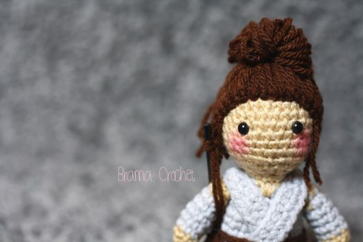 Rey - Star Wars - Kawaii Amigurumi doll by BramaCrochet