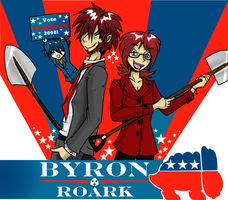 BYRON AND ROARK 2008 by denkimouse