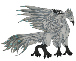 Feathered Dragon by MapleSpyder