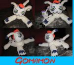 Gomamon the plushie by Crystal-Dream