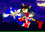 CE: Honey VS. Sonic! by SonicLuver1