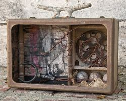 Old Paint...assemblage by hummbuzz