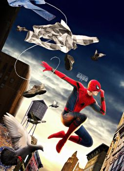 Spider-man Homecoming by Timetravel6000v2