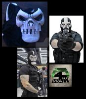 Crossbones Mask by 4thWallDesign