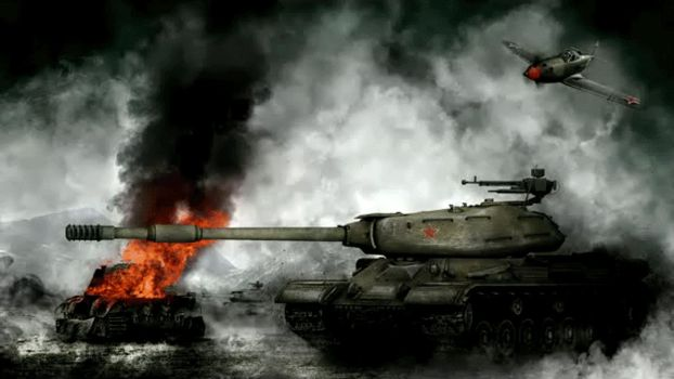 World of Tanks IS-4 by cojocea2010