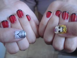 Fullmetal nails by Camilicks