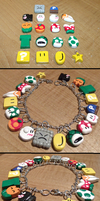 Super Mario World Charm Bracelet by HideTheDecay