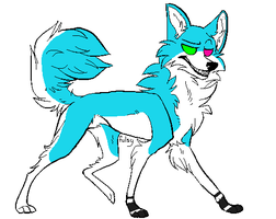 Blue Dog adopt ..::CLOSED::.. by love-the-adopts