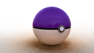 Masterball Original Render PNG with Transparency by hmoob-phaj-ej