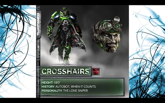 TRANSFORMERS the last Knight CROSSHAIRS by Robotponytron