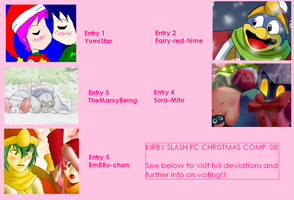 CHRISTMAS COMPETITION VOTING by kirbyslash