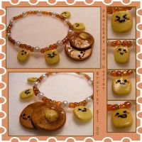 Pancake Bracelet by Kerokie