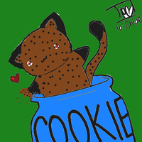 COOKIE KITTY by awesomeness109
