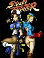 Street Fighter Chickies by PenthesileiaRavyn