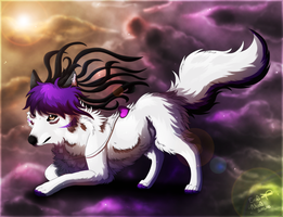 Huskie by Evoli-niceli