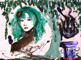 Weeping Willow by Poisonisnotgoodforu