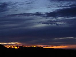 Dark sunset II by fairling-stock