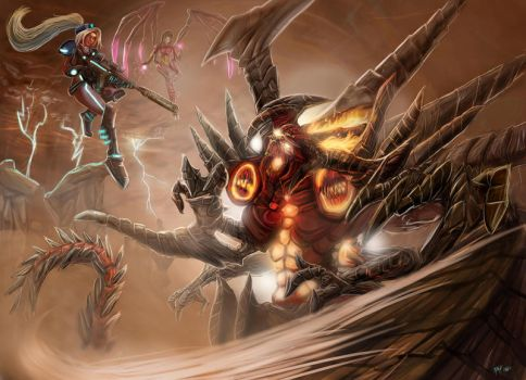 Diablo Prime Evil VS Nova and Kerrigan by MikeOrion