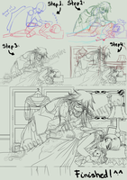 Good Night Sleep Tight Lineart Walkthrough by SweetLittleVampire