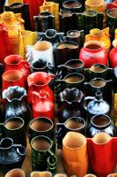 Colorful Pottery by ProjecTSymbiosiS10