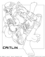 A Brief Respite: Caitlin by JayAxer