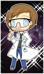 Chibi Science Cutie by TerryRose