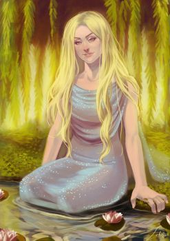 Goldberry The River Daughter by Lelia