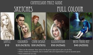 Commission Price Guide by slugette