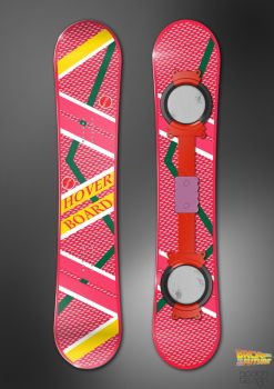 Back to the Future Hoverboard by paulodesign