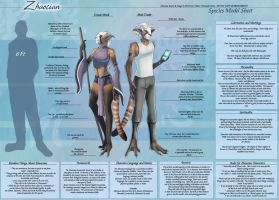 Zhaocian - Species Sheet by Ulario