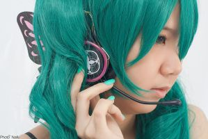 Hatsune miku Magnet 01 by Aklare