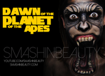 Dawn Of The Planet Of The Apes Makeup Tutorial  by smashinbeauty