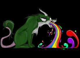 Barf a Rainbow by Toonfused